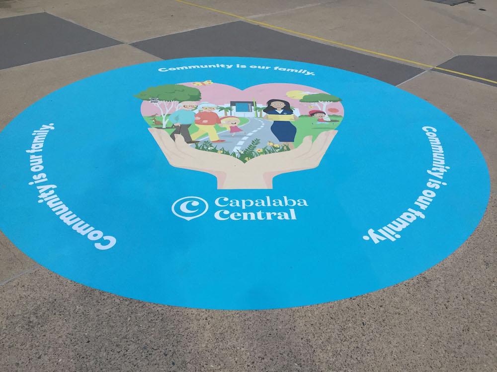 Capalaba Floor Graphic