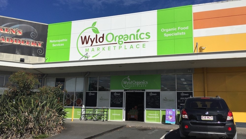 Outdoor Sign 5 Wyld Organics