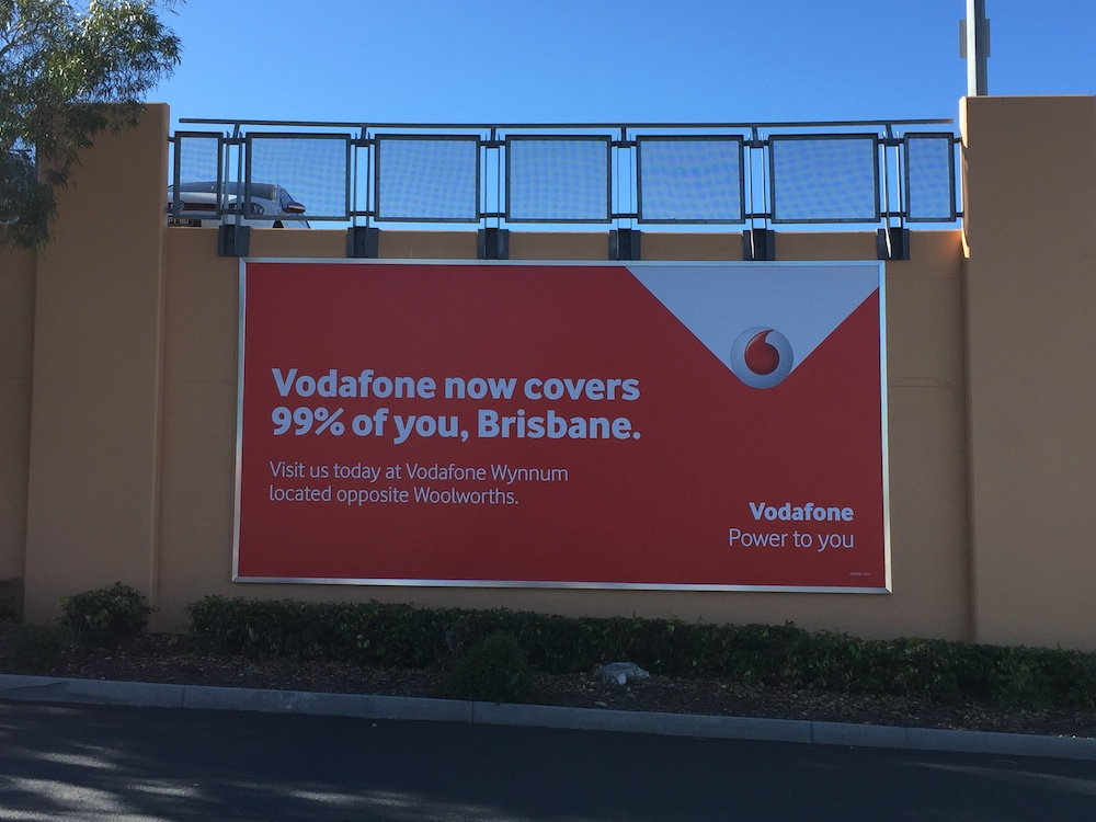 Vodafone Billboard
